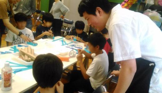 2019/06/23 ゼンマイカー工作教室@目黒区立田道小学校