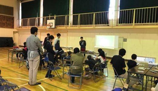 2019/11/09 ゼンマイカー工作教室@相模原市立向陽小学校