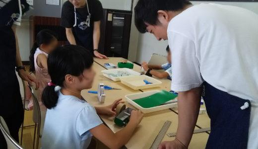 2019/08/31 ゼンマイカー・ウインドカー工作教室@中川地区センター