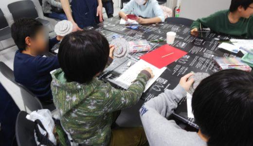 2020/01/12ぐるぐる暗号機 工作教室@東芝未来科学館