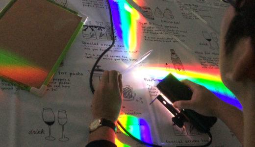 2019/12/08 分光器工作教室@東芝未来科学館